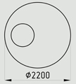 кольцо ОК-2,0-1,0-А