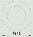 кольцо ОК-0,7-0,58