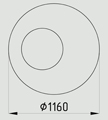 опорное кольцо ОК-1,0-0,58-А