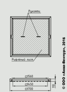 Легкосъемные крышки КЛ-2